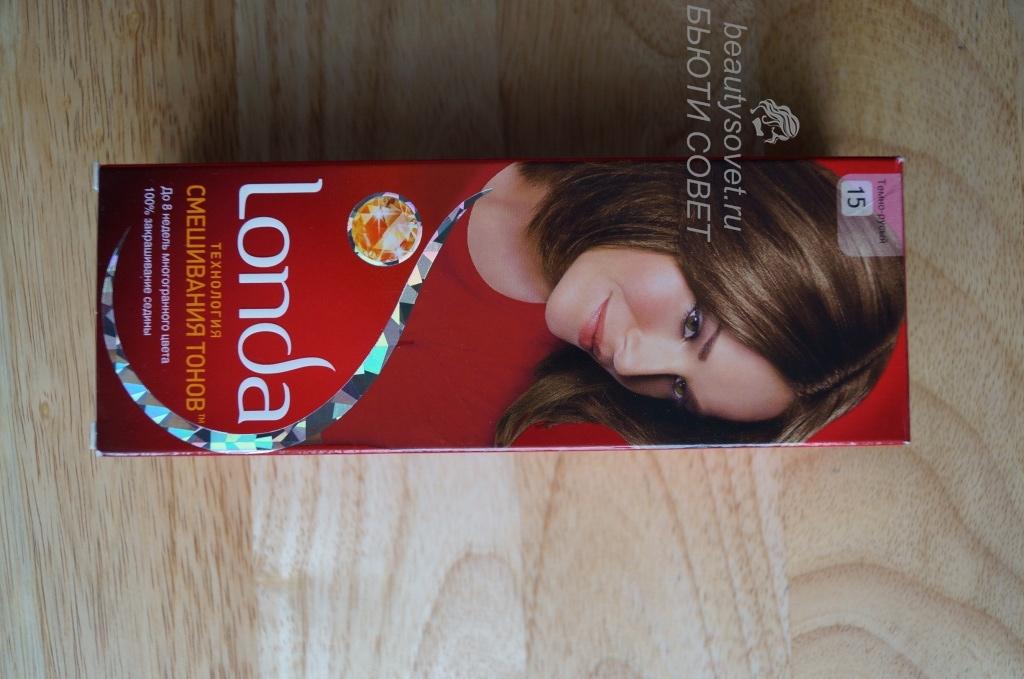 Londa Темно-русый №15. Фото до и после. Отзыв.