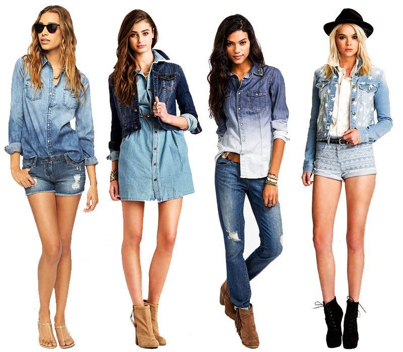 джинсовая коллекция 2016