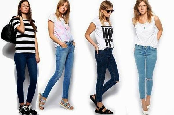 лето джинсы