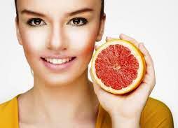 грейпфрут здоровая кожа