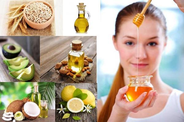 Продукты с кухни для красоты волос, кожи и ногтей.