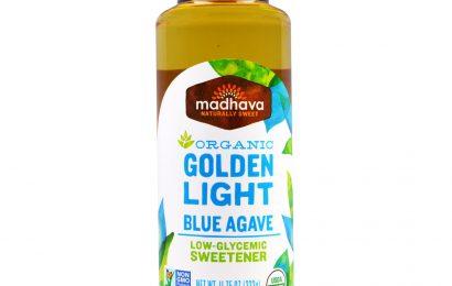 Madhava Natural Sweeteners, Органическая золотисто-голубая агава