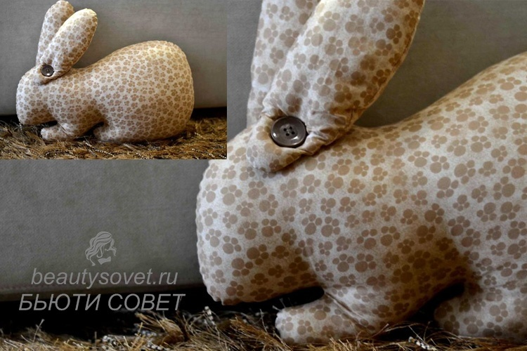 Кролик тильда выкройка