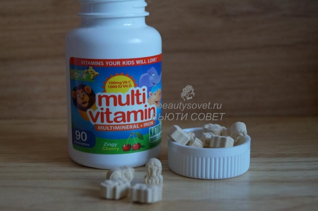 Yum-V's мультивитамины для детей. Отзыв, фото.