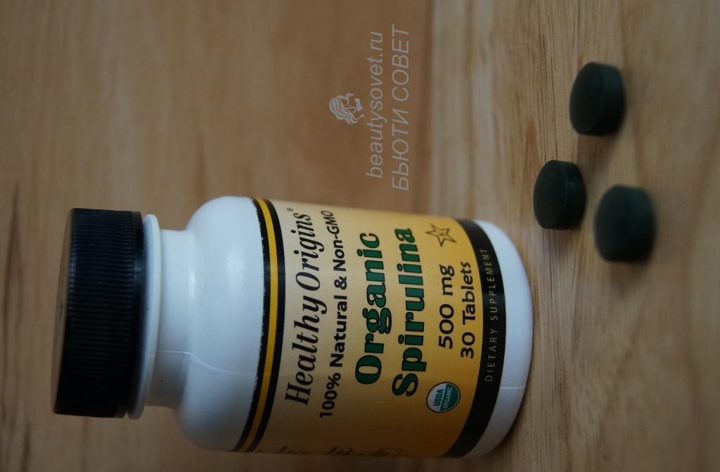 Healthy Origins, Органическая спирулина iHerb. Отзыв.