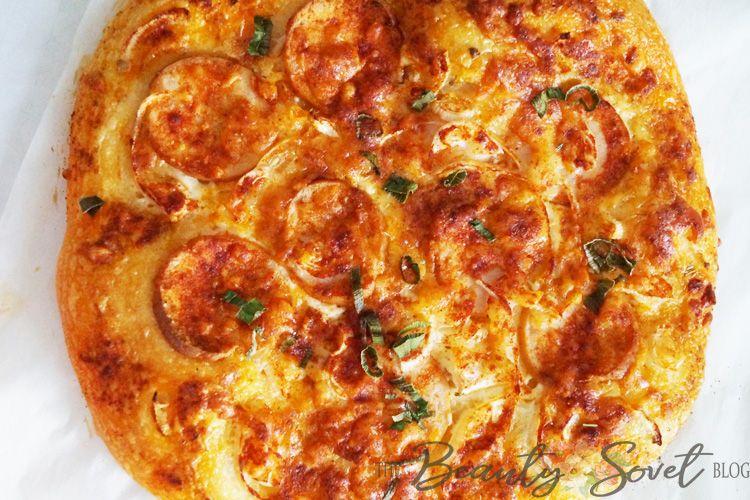 Простое тесто на пиццу