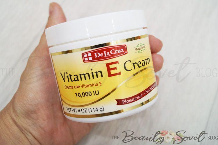 Крем с витамином Е от DeLaCruz